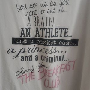 torrid Tops - The Breakfast Club raglan tee